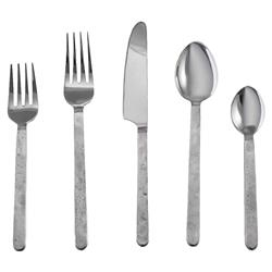 Simon Pearce Modern Classic Orleans 5-Piece Stainless Steel Cutlery Set
