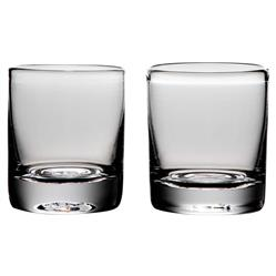 Simon Pearce Modern Classic Ascutney Double Old-Fashioned Glass - Set of 2