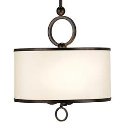 Marlow Modern Cream Shaded Pendant 3 Light Pendant | CC-9107