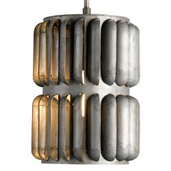 Turbina Industrial Wind Turbine 1 Light Sculptural Pendant