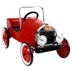 Baghera French Kids Red Pedal Classic Toy Car