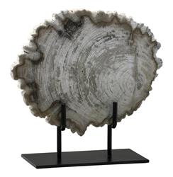 Roswell Small Petrified Wood Fragment Sculpture | CYAN-02598