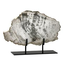 Roswell Large Petrified Wood Fragment Sculpture | CYAN-02600