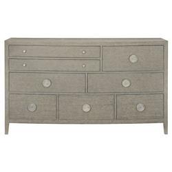 Landon Modern Masculine Grey Wood Dresser