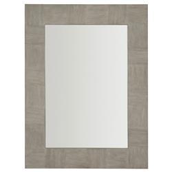 Landon Modern Masculine Grey Wood Mirror