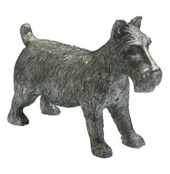 """Monopoly"" Scottish Terrier Dog Game Token Sculpture 