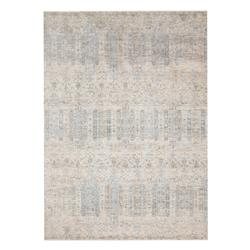 Marjorie Modern Classic Power Loomed Pale Blue Rug - 5' x 8'""