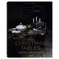 teNeues 50 Years of Christmas Tables by Royal Copenhagen Hardcover Book
