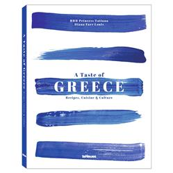 teNeues a Taste of Greece Hardcover Book