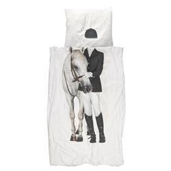 Snurk Living Equestrian Modern Classic Duvet Cover Set - Twin