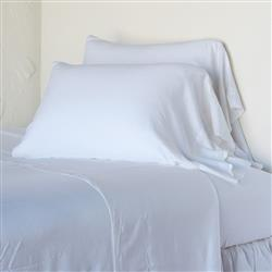 Bella Notte Madera Luxe French Country White Lyocell Fitted Sheet - Twin XL