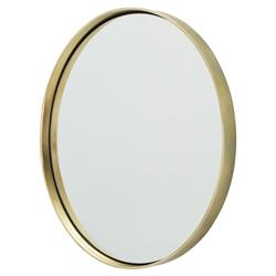 Obsie Modern Simple Round Ring Mirror - Gold