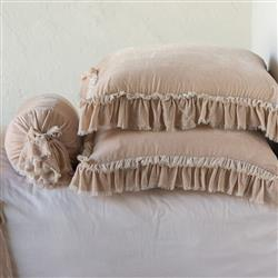 Bella Notte Loulah French Country Sham - Pearl Euro