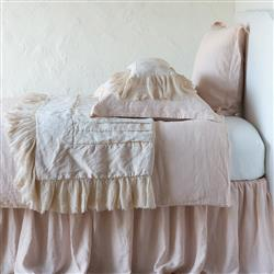 Bella Notte Valentina French Country Personal Comforter - Pearl