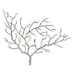 Edwin Metal Tree Branch Modern Wall Sculpture