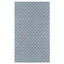 Madcap Cottage Baileys Beach Coastal Blue Crosshatch Outdoor Rug - 2'x3'