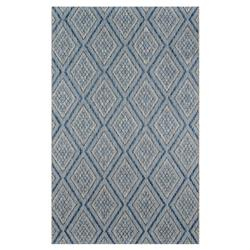 Madcap Cottage Lake Palace Blue Diamond Outdoor Rug - 7'10x10'10