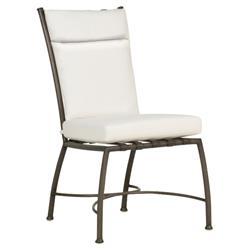 Summer Classics Majorca Modern Slate Grey Outdoor Dining Side Chair