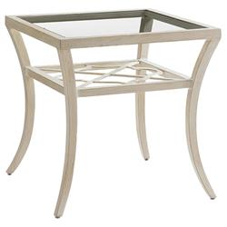 Tommy Bahama Misty Garden French Country Square Outdoor Side End Table