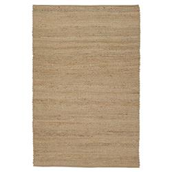 Bella Modern Brown Hand Woven Reversible Jute Rug - 5' x 7'6