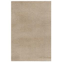 Harper Modern Brown Wool Rug - 5' x 7'6
