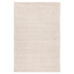 Harriet Modern Beige Hand Woven Wool Rug - 5' x 7'6