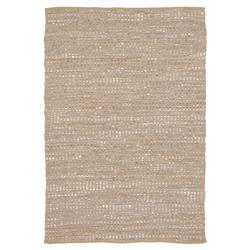Lily Modern Brown Grey Reversible Rug - 5' x 7'6