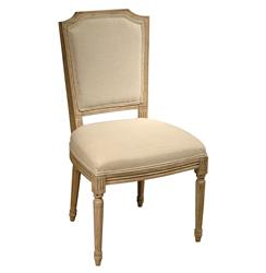 Sulpice Shield Back French Country Spindle Leg Dining Chair