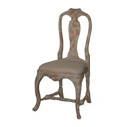 Provence Antique Gray French Country Dining Chair