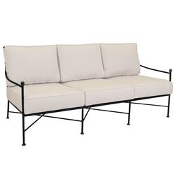 Sunset West Provence French Beige Cushion Metal Outdoor Sofa