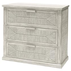 Palecek Santa Barbara Coastal Beach White Hand Woven Lampakanai Rope Chest
