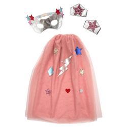 Meri Meri Modern Pink Superhero Dress Up Kit