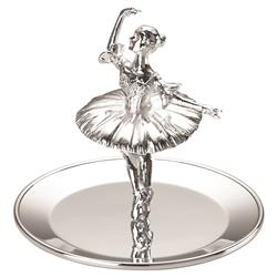 Reed & Barton Ballerina™ Modern Classic Silver-Plated Ring Holder