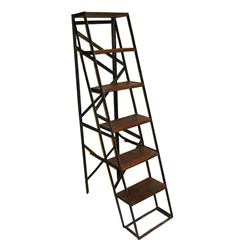 Bambrook Industrial Rustic Vintage Steel Display Ladder | BOT-INDJB003