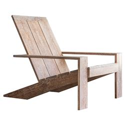 Sublime Original Hi Adirondack Modern Rubbed Outdoor Adirondack Chair