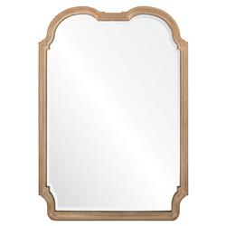 Annie French Country Antique Silver Frame Novelty Wall Mirror