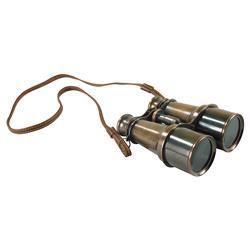 Olive Modern Classic Antique Bronze Victorian Binocular
