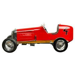Delilah Modern Classic Red Bantam Midget Model Car Spindizzy Miniature