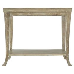 Scarlett Rustic Lodge Light Wood Rectangular Side End Table