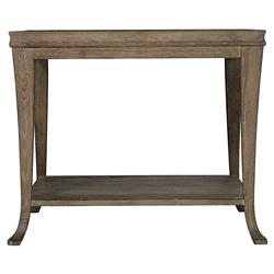 Scarlett Rustic Lodge Dark Wood Rectangular Side End Table