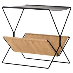 Molly Modern Classic Slim Black Fame Magazine Rack
