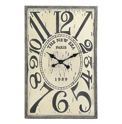 French Country Vintage Wood Hanging Wall Clock | PC040