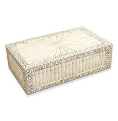 Micina Wood Bone Global Bazaar Decorative Jewelry Box