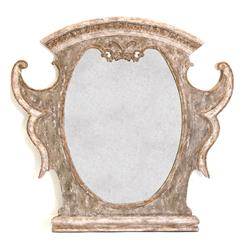 Versailles French Country Antique Gold Distressed Carved Mirror