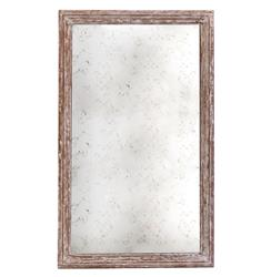 Marseilles French Farmhouse Antique Taupe Rectangle Mirror - 54 Inch