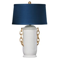 Bellatrix Modern Classic Ivory Chain Table Lamp