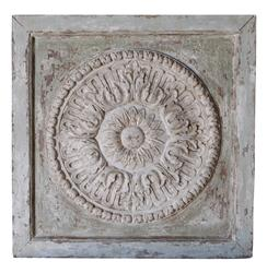 Soleo French Country Carved Sun Wood Panel | Kathy Kuo Home