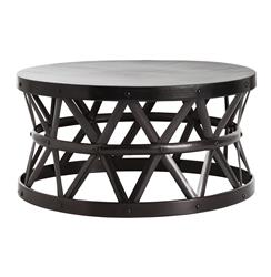 Stanley Costello English Modern Bronze Coffee Table