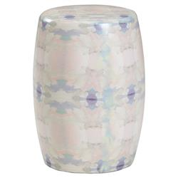 Imogen Global Bazaar Multicolor Ceramic Garden Stool