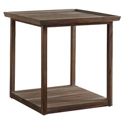 Camilla Mid Century Modern Teak Side End Table